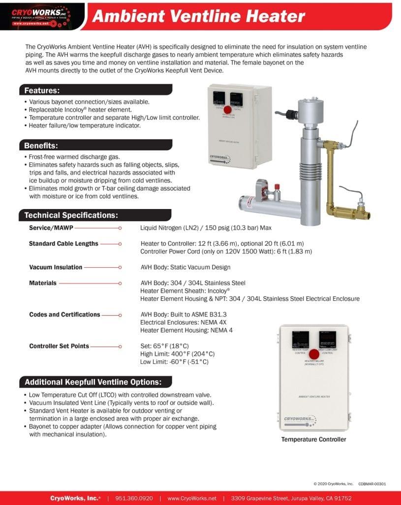 CDBMAR 00301 Ambient Ventline Heater 3 15 21 1